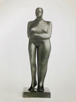 Standing Figure by Kobe .