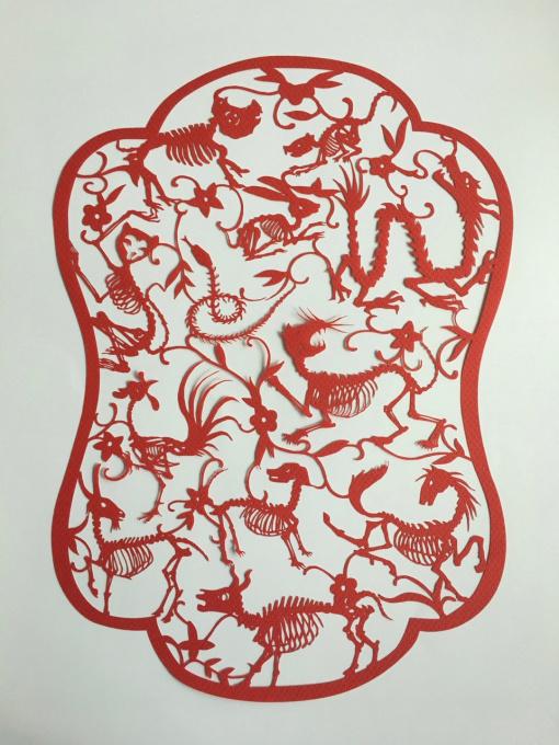 12 Zodiacs by Chen Hangfeng