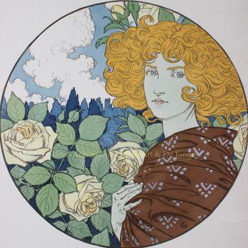 Jalousie  by  Eugène Grasset