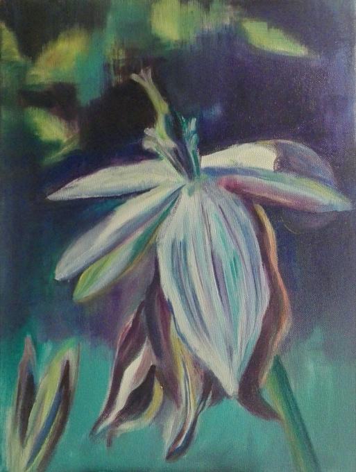 Flower V by Magdalena Chmielek