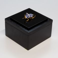 Anatomia Blue Heritage Beetle Rhinoceros Beetle small by Samuel Dejong