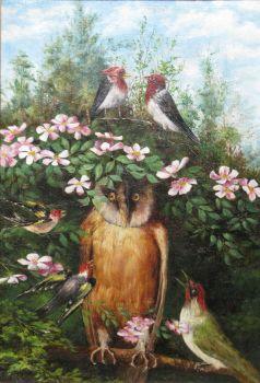 The wise owl by Theo van Hoytema