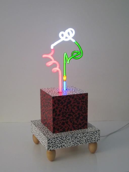 3D-Neon sculptuur by Jozef van der Horst