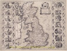 THE MOST FAMOUS MAP OF THE BRITISH ISLES  by Speed, John