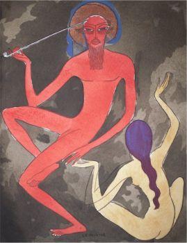 Arabian Nights no 1 by Kees van Dongen