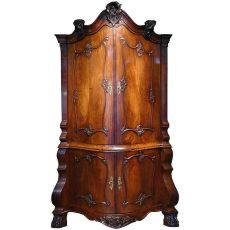A Corner Cupboard by Unknown Artist
