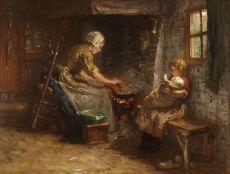 Het bereiden van de maaltijd by Bernardus Johannes Blommers