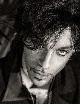 Prince - close up by Steve Parke
