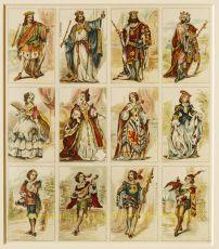 Antieke speelkaarten  by  Ferdinand Piatnik