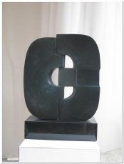 Tweedelige Compositie by Gerrit Langedijk