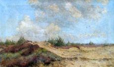 Heide bij Laren by Johan Briedé