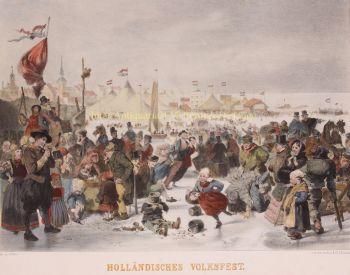 Folk Festival,  Volendam  by  Henry Ritter