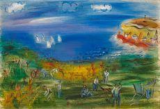"""La baie de Sainte adresse"" by Raoul Dufy"