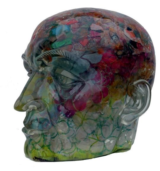 Flower head by Zhuang Hong Yi