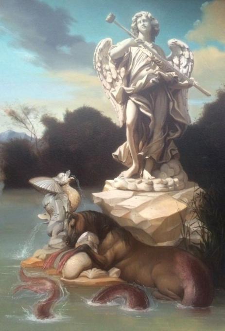 Trittone e nettuno by Giovanni Tommasi Ferroni