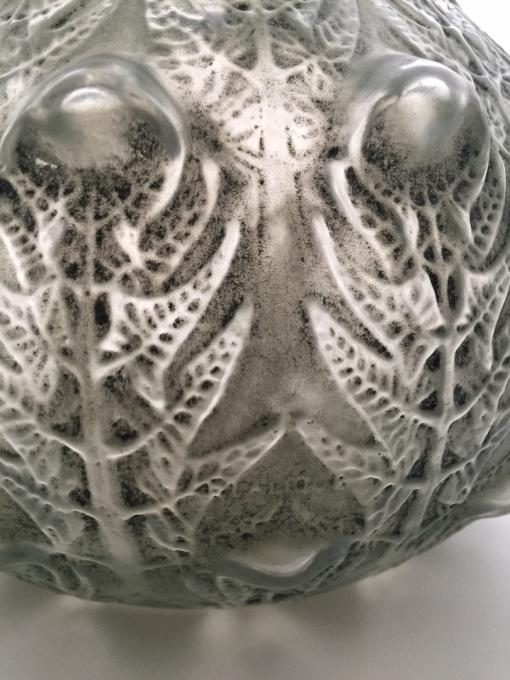 A wondeful vase 'Fougeres' designed by Rene Lalique by René Lalique