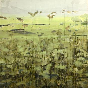 Landschap 01 by Mirian Jacobs