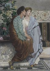 The First Whisper of Love  by Lawrence Alma-Tadema