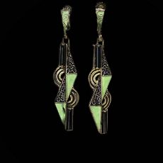 Art deco earrings by Theodor Fahrner