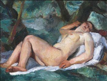Sleeping beauty by Charles Kvapil