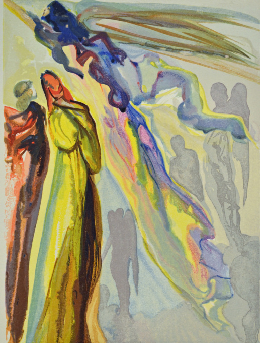 Divina commedia paradiso 16 by Salvador Dali