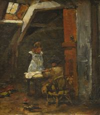 the painter's children by Willem de Zwart