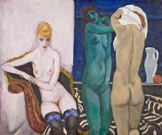 Three Female nudes by Jan Sluijters
