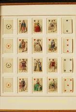 FRANS COSTUUM KAARTSPEL/ Playing cards by Grimaud, B.P.