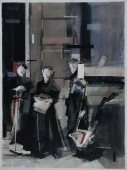 Begining of April 1963, around nine o'clock in the direction of the st. ignatiusstraat by Wessel Huisman