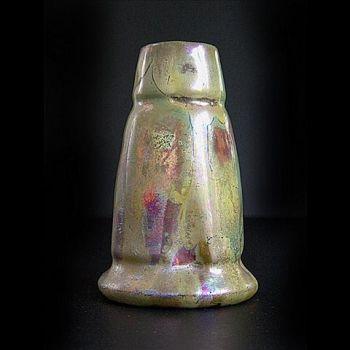 Elephant foot vase Massier by Clement Massier