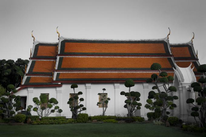 Temple by Shen Wei