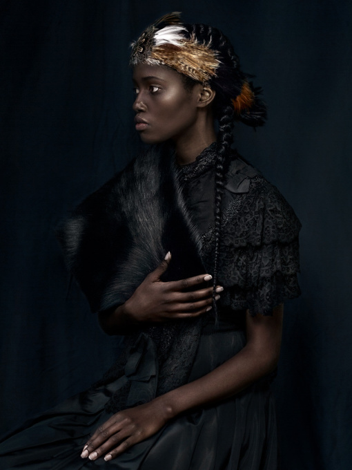 For Sarah - The African Princess - Roots by Dagmar van Weeghel