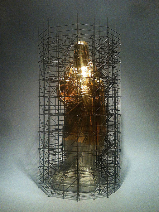 Gold Jesus by Wieland Vogel