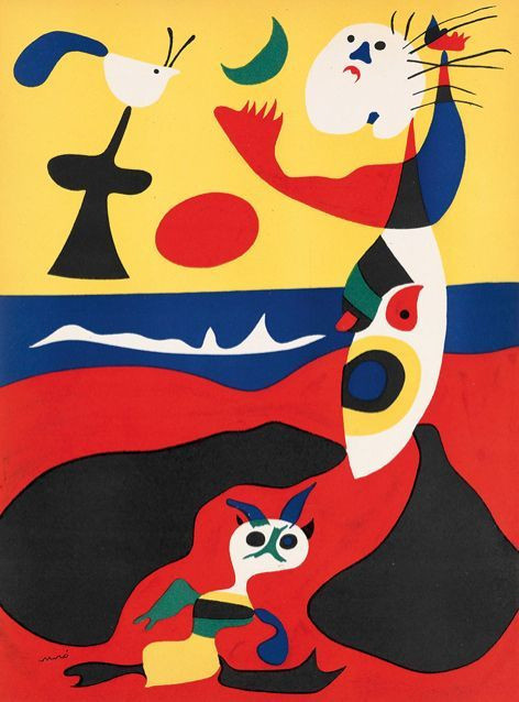 L'Été / Summer by Joan Miró