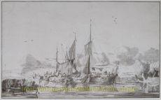 RIVIERGEZICHT NAAR JACOB ESSELENS  by Ploos van Amstel, Cornelis