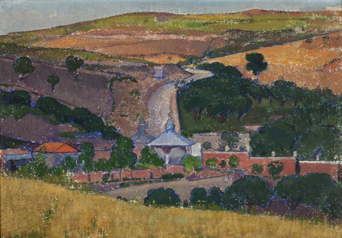 The road to Gethsemani by Jan Verkade