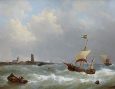 Seascape with Ships