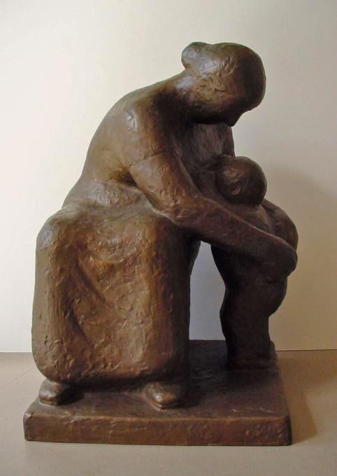 Grandmother by Han Wezelaar
