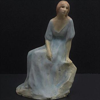 Art deco sculpture by Agnes Frumerie
