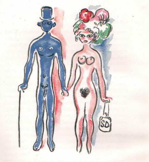 Les Lepreuses 1 by Kees van Dongen