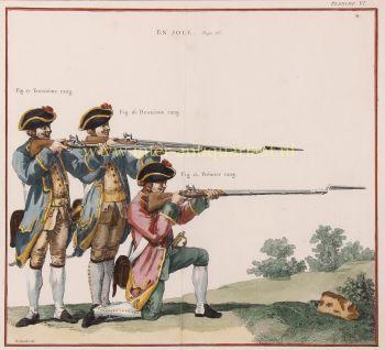 French Royal Army  by Hubert François Gravelot