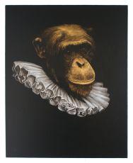 Le Singe Peintre XV by Stefan à Wengen