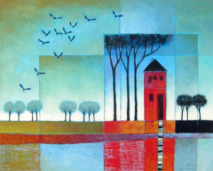 Vergeten de wind (forget the wind) by Magda Luttikhuizen