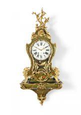 A Louis Quinze Console Clock 'Grand Cartel'