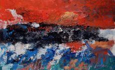 Truro Sunrise I by Jan Cremer