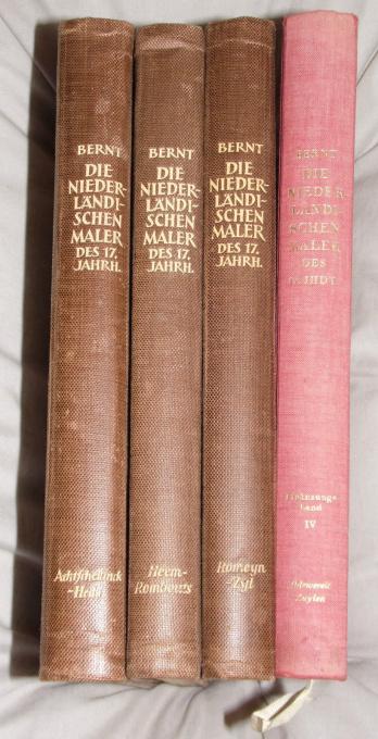 Die Niederländischen Maler des 17. Jahrhunderts. (4 volumes) by Unknown Artist