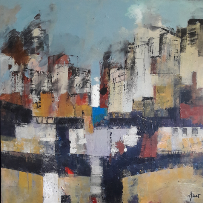 City by Elies Auer