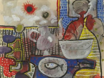Composition by Lucebert .