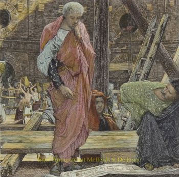 Architecture in Ancient Rome  by Lawrence Alma-Tadema