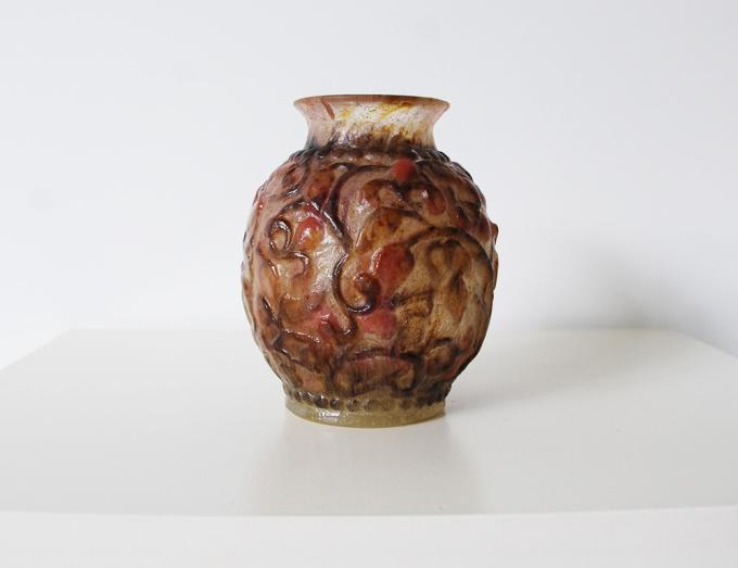 Vase Pâte de Verre by Gabriel Argy-Rousseau